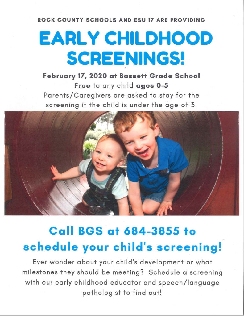 Early Childhood Screenings